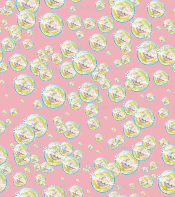 Bubbles Bubblegum Background