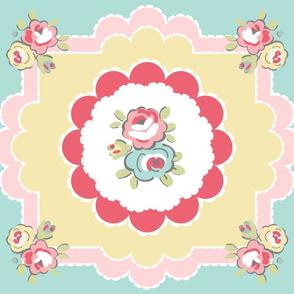 Tea Time Placemat Rose