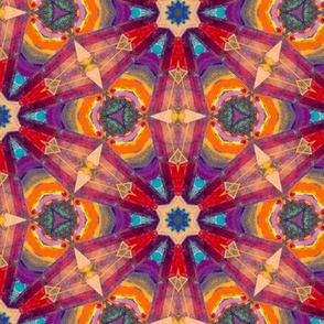 bohemian bazaar mosaic starburst