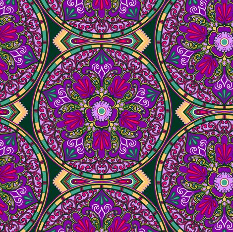 Victorian Plate 1 fabric by jadegordon on Spoonflower - custom fabric