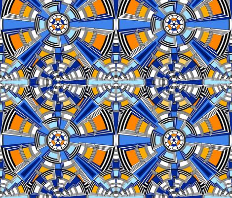 caissons fabric by zazulla on Spoonflower - custom fabric