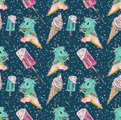 Dinosaurs , Ice-cream and Sprinkles