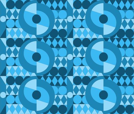 circle-blue fabric by tania_prosdocimo on Spoonflower - custom fabric