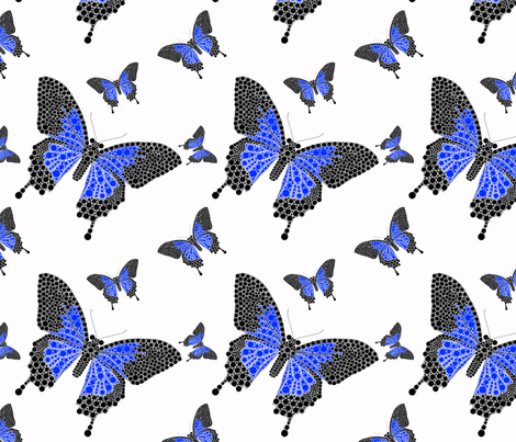 Butterfly_Spotting fabric by stardusted_hearts on Spoonflower - custom fabric