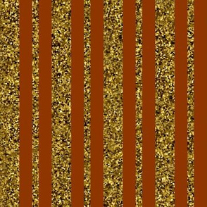 CD2 -  Speckled Gold, Olive and Copper Stripes