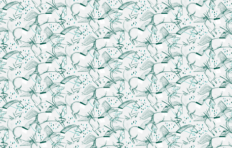 On the Loose! M+M Gray 10 by Friztin fabric by friztin on Spoonflower - custom fabric