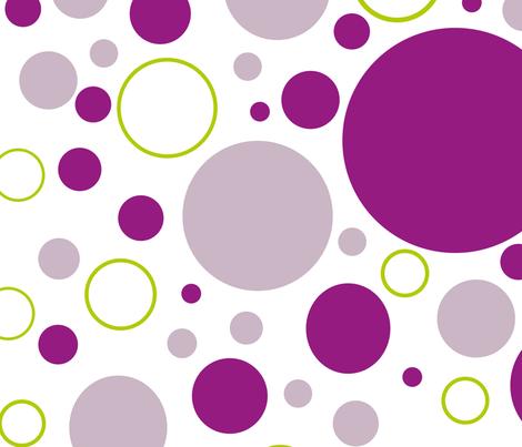 Circles fabric by maredesigns on Spoonflower - custom fabric
