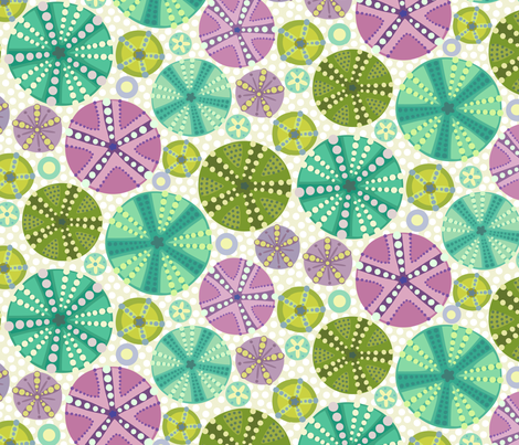 Circlette fabric by lily_studio on Spoonflower - custom fabric