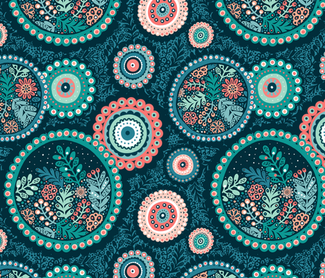 Circles fabric by julia_gosteva on Spoonflower - custom fabric