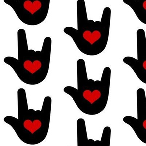 I Love You Sign Language ASL