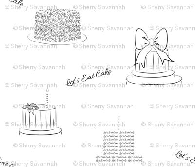 Let's Eat Cake - Birthday