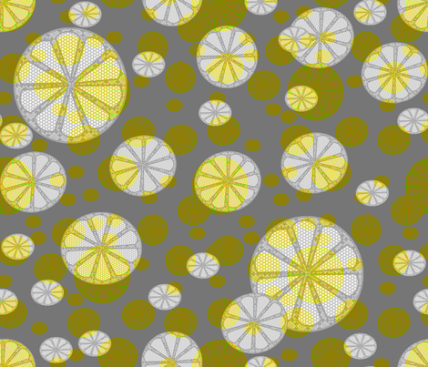 Citracircles fabric by lkm3s on Spoonflower - custom fabric