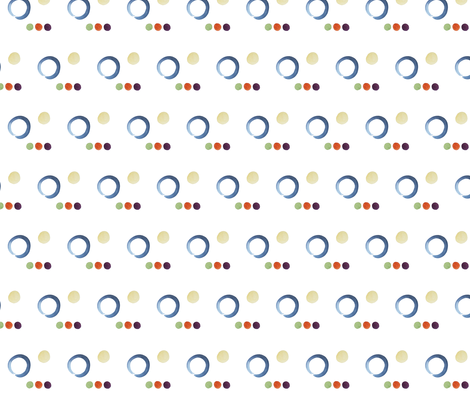 Circles and Circles and Circles fabric by withoutaladder on Spoonflower - custom fabric