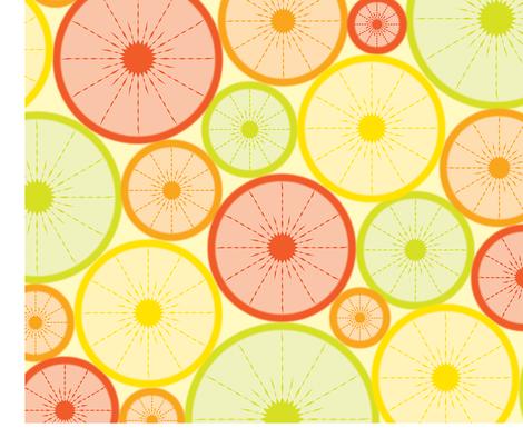 Joan_Michael_CITRUS_FINAL fabric by joanmic on Spoonflower - custom fabric