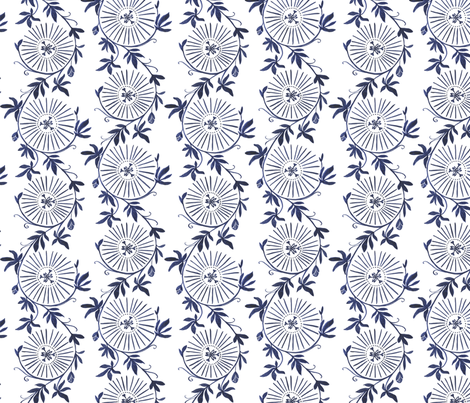 blue climber fabric by fallydesign on Spoonflower - custom fabric