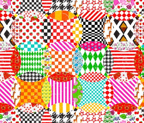 Pacific Circle fabric by orangefancy on Spoonflower - custom fabric