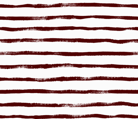 Thin Stripe maroon fabric by crystal_walen on Spoonflower - custom fabric