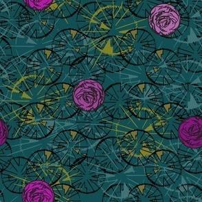 Rose circles - Edwardian colours