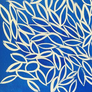 LJD White Leaves