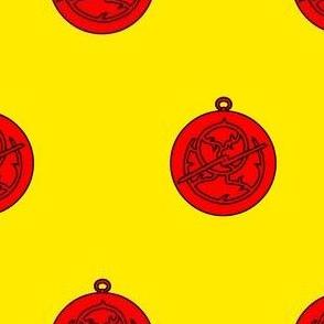 Or, an astrolabe gules