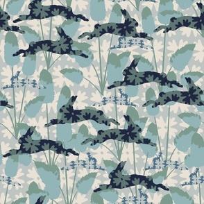 Bunnytails Blue Greentip
