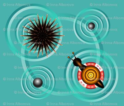 Azure circles