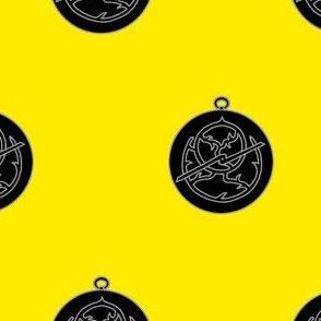 Or, an astrolabe sable