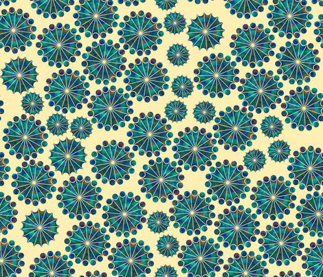 Radiant fabric by doris_rguez on Spoonflower - custom fabric