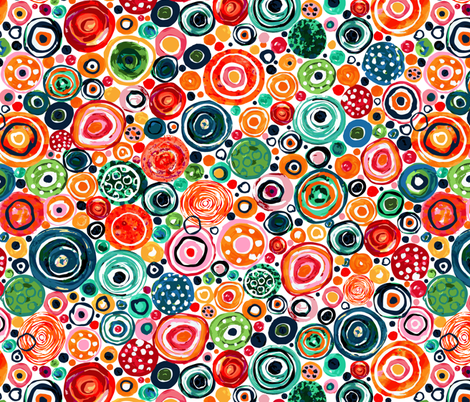 Lost Marbles fabric by sarah_treu on Spoonflower - custom fabric