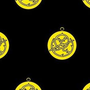 Sable, an astrolabe Or