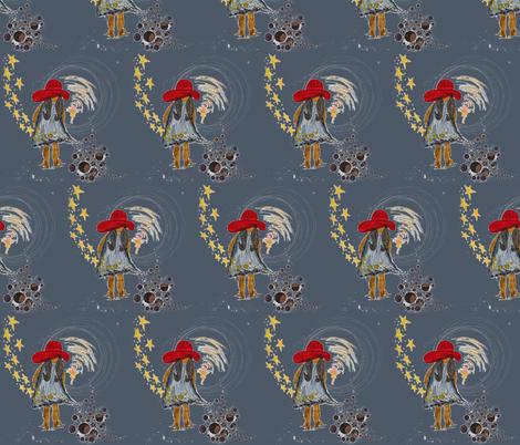 MAGICAL NIGHT fabric by hunnellekari on Spoonflower - custom fabric