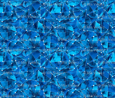 Geometric Nebula_Blue