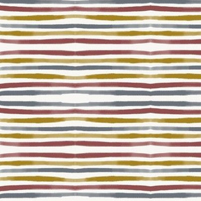 rainbow stripes watercolor