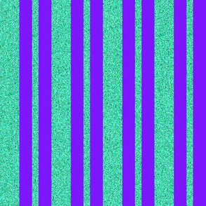 CD13 - Violet and Speckled Blue-green Stripes