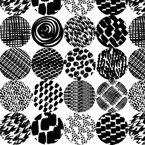 patterned circles