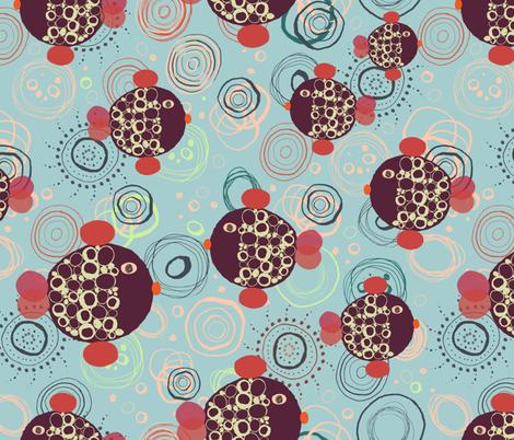circle-fish fabric by nici_gabriel_designs on Spoonflower - custom fabric