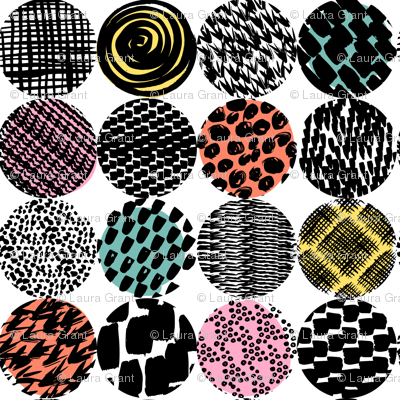 patterned circles 2
