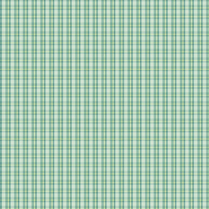 light green plaid