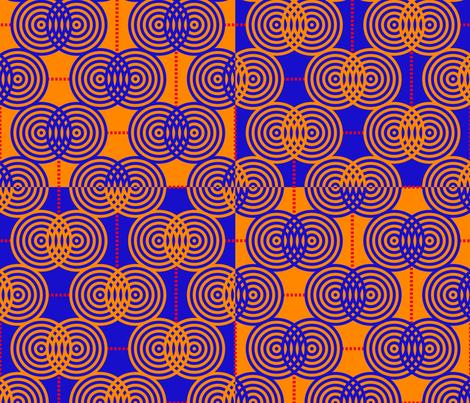 Rainpuddle fabric by nekineko on Spoonflower - custom fabric