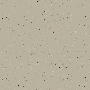 khaki polka dots
