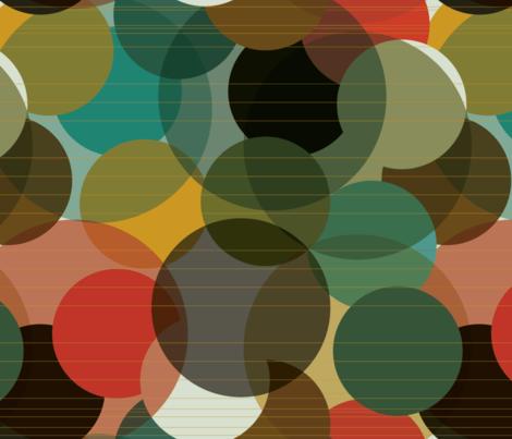 Kaleidoscope Circles fabric by deborah_ann on Spoonflower - custom fabric