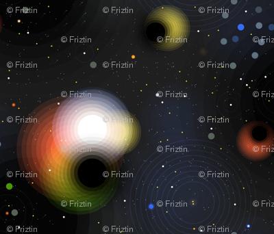 Black Holes by Friztin