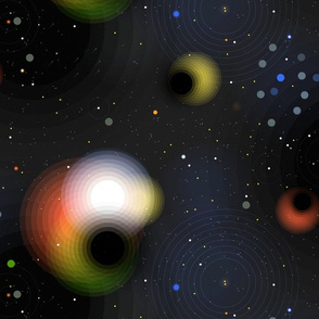 Black Holes by Friztin