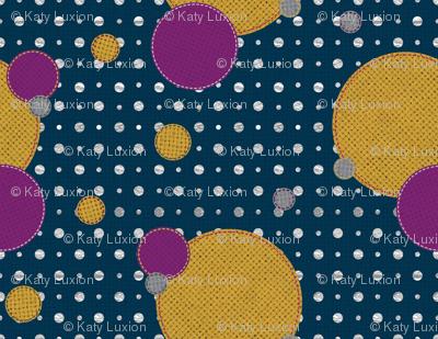 Vibrant Dots and Circles