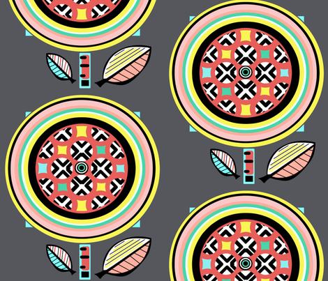 Bouquet  sewindigo fabric by sewindigo on Spoonflower - custom fabric