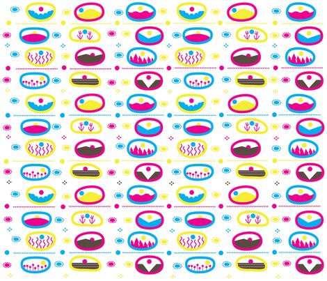 Circular Landscapes fabric by missy_warp on Spoonflower - custom fabric