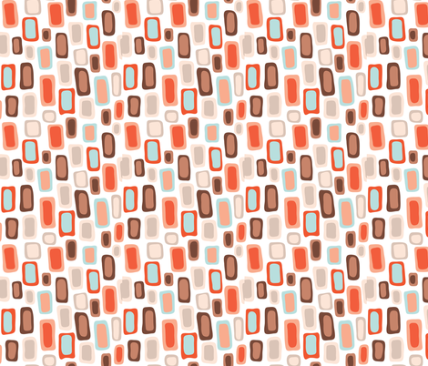 Retro Rectangles fabric by limolida on Spoonflower - custom fabric