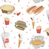Hand Drawn Fast Food Illustrations