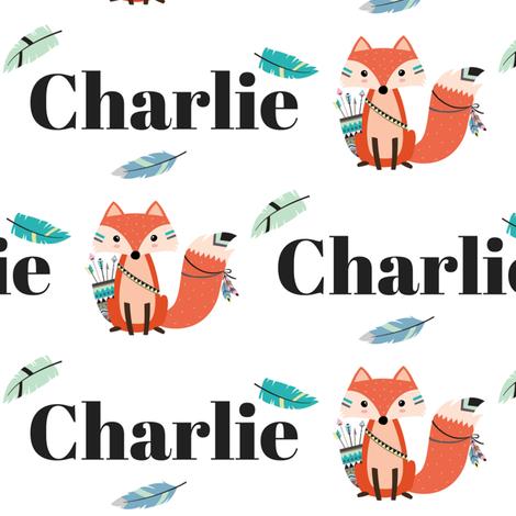 Charlie fabric by buckwoodsdesignco on Spoonflower - custom fabric
