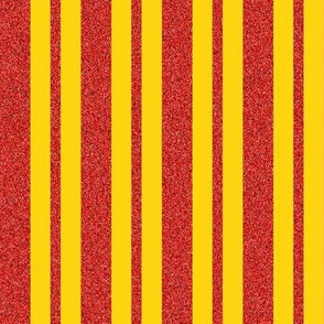 CD15 - Speckled Red and Golden Yellow Stripes